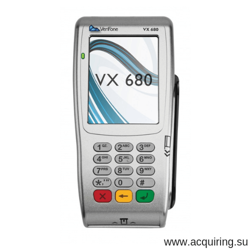 Мобильный POS-терминал Verifone VX680 (Wi-Fi, Bluetooth) под Прими Карту в Кирове